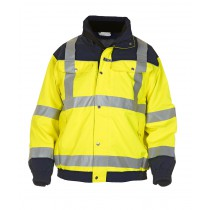 04021599 Hydrowear Pilot Jacket Furth Simply No Sweat EN471 Bicolour (Yellow or Orange)