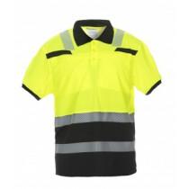040445 Hydrowear Poloshirt Hi-Vis Line Thorne