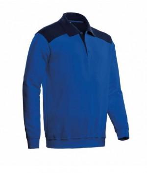CBS - Polosweater Tesla royal blue/navy